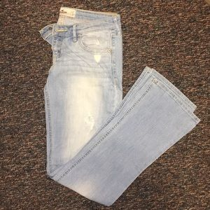 Light wash Hollister Boot Cut Jean